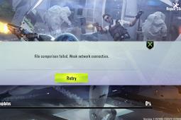 Cyber Hunter PC Gagal Update File Comparison Failed Weak Network