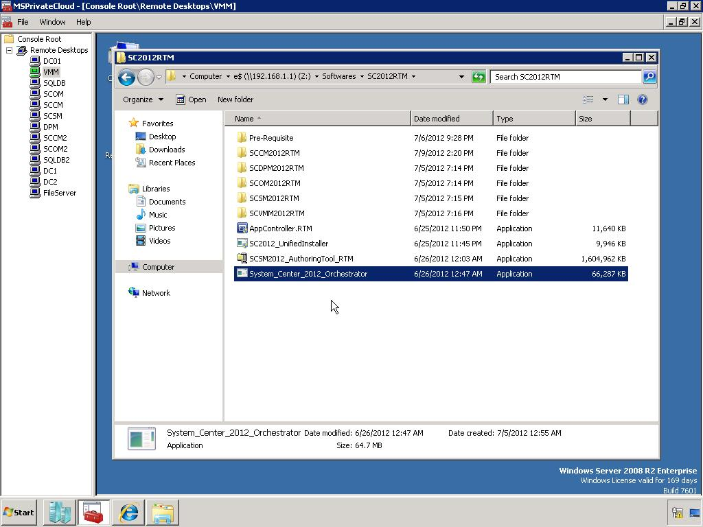 System Center 2012: Orchestrator - Installation
