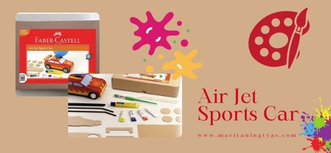 air jet sports car by Faber-Castell