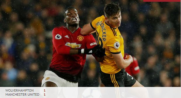Wolves vs Manchester United: Man United against Wolves