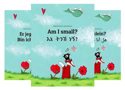 Das Bilderbuch Bin ich klein? ist seit seinem Erscheinen in über 200 Sprachen und Dialekte übersetzt worden.