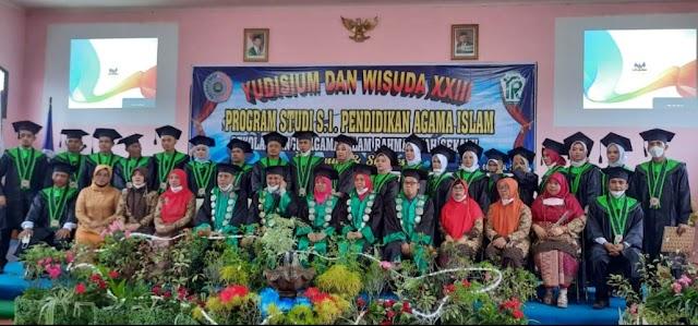 STAI Rahmaniyah Sekayu  Yudisium & Wisuda Ke 23 Program Studi S.1 Pendidikan Agama Islam.