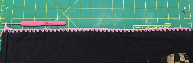 Closeup of row 1