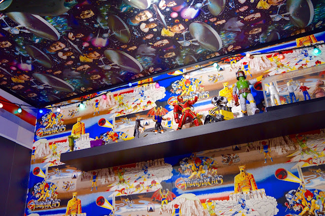 Disney Film and Comic memorabilia in Atomic Burger Bristol