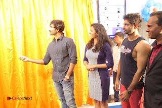 Actor Aadhi And Actress athrie Inaugurated F45 Fitness Studio Stills  0063