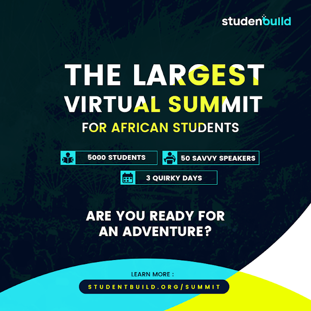 Apply For Student Build Summit 2020 For Africans Students