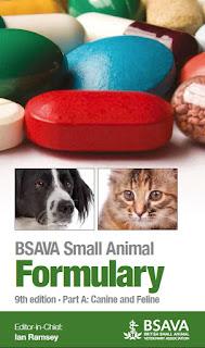 BSAVA Small Animal Formulary Part A Canine and Feline 9th Edition