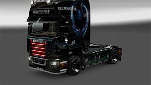 Scania Alien skin