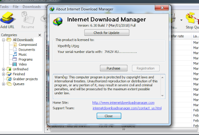 Internet Download Manager 6.30 Build 7 Full + New Working Patch