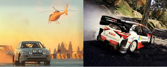 DiRT 5 vs WRC 9: Graphics