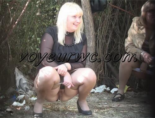 PissHunters 9219-9234 (Outdoor voyeur peeing. Voyeur public toilet spy cam)
