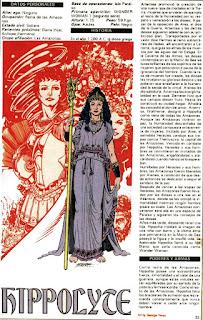 Hipolita Amazonas DC Wonder Woman