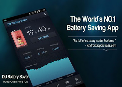 BATTERY SAVER APPLICATION ANDROID PHONES – DU BATTERY SAVER