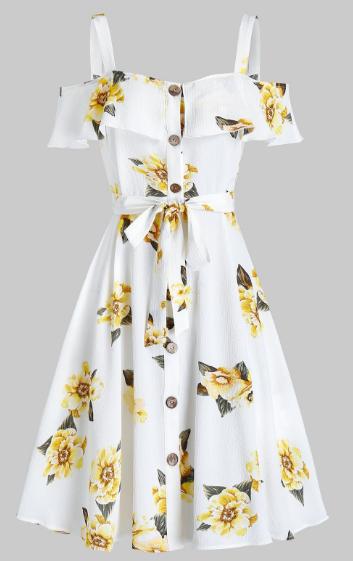 dress, haljina, moda, fashion, floral, cvjetni uzorak, print, dezen, summer, ljeto, ljetna haljina, sprin, proljeće, dresslily, blog, bloger, blogger, balkan bloggers,