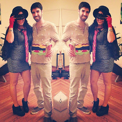 Happy Halloween Costume Ideas For Couples 2016 hamburgers