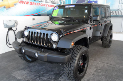 Pick of the Week – 2015 Jeep Wrangler Unlimited