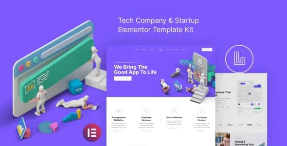 Best Tech Company & Startup Elementor Template Kit