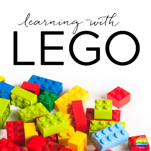 Learning with Lego - ideas for learning letters - upper and lower case, alphabetical order, letter formation and sight words in the Early Years through hands on play. Perfect learning activities for preschoolers at home and in the classroom | you clever monkey