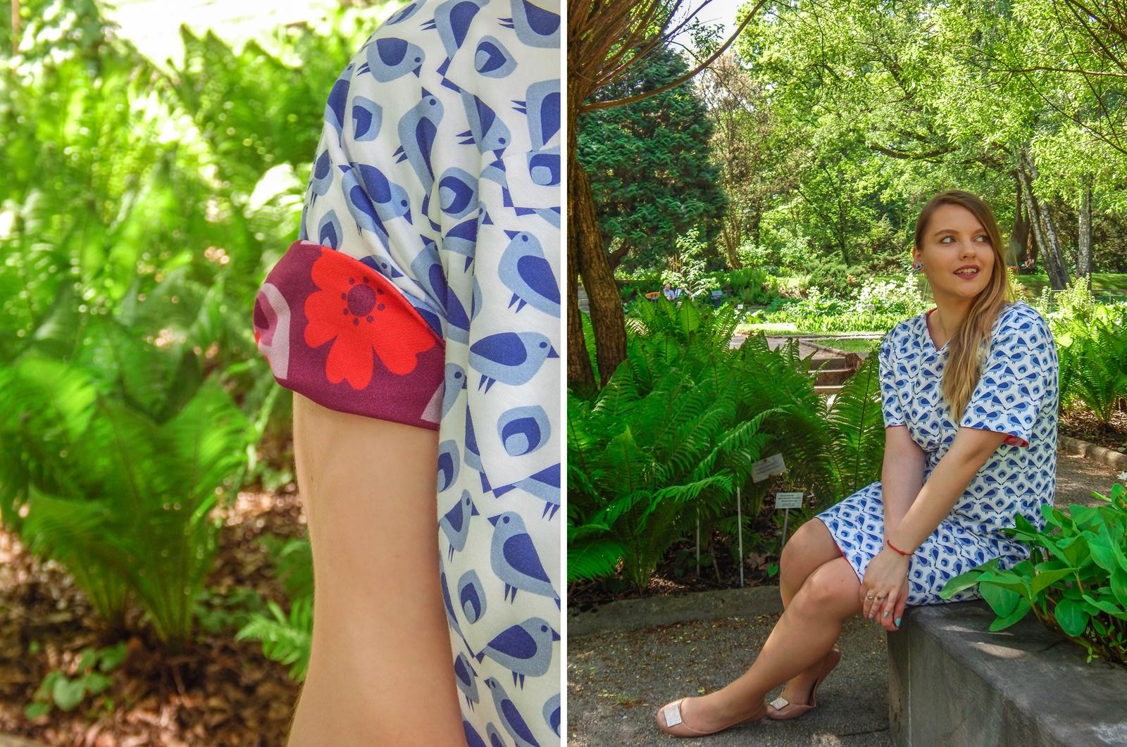 9 samodobro dwukroopek dwustronna sukienka dla mamy prezent na dzień matki drewniana biżuteria wróbel i dzika róża metka z opowiadaniem ciekawe mlode polskie marki odzieżowe moda lifestyle łódź