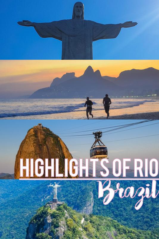 Rio de Janeiro itinerary pinterest