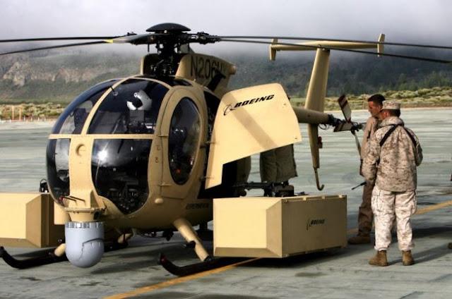 Boeing Unmanned Little Bird (ULB) H-6U Specs