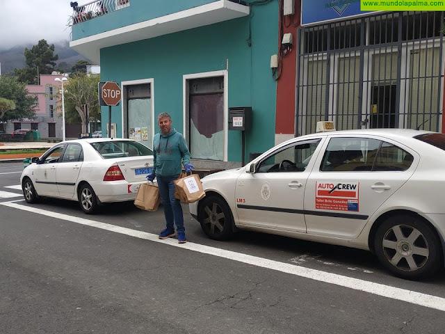 El Cabildo de La Palma distribuye kits preventivos entre los taxistas de la isla