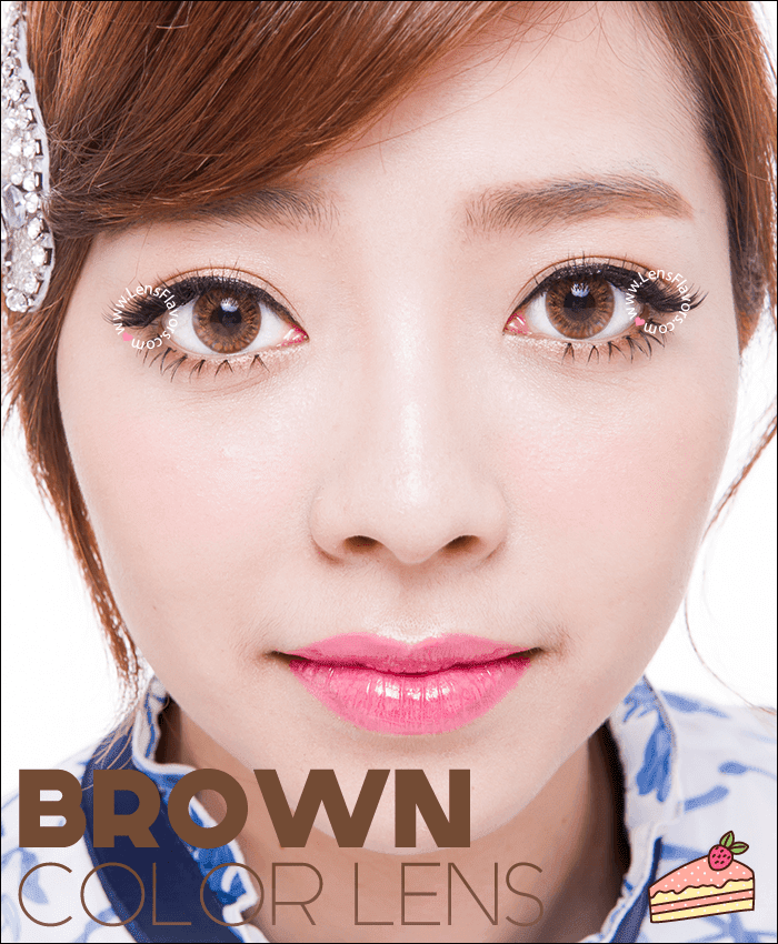 vassen rainbow eyes brownish hazel colored contacts