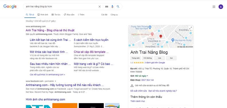 Anh Trai Nắng Blog Tp HCM