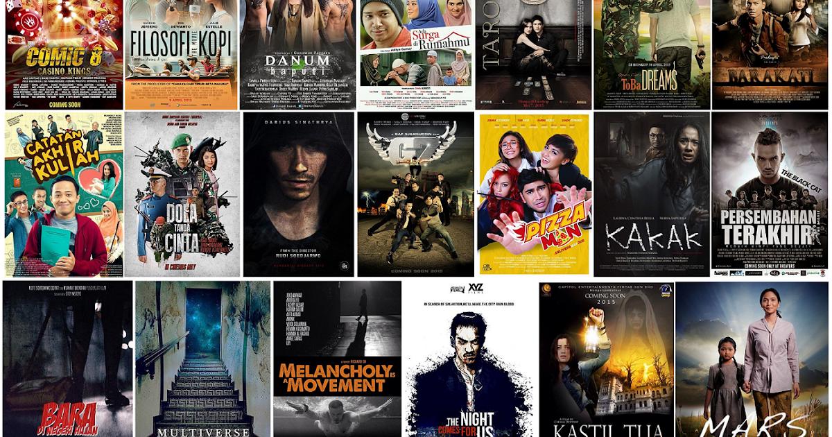 Daftar Film Indonesia Rilis Bioskop Tahun 2015 ^ - Arie