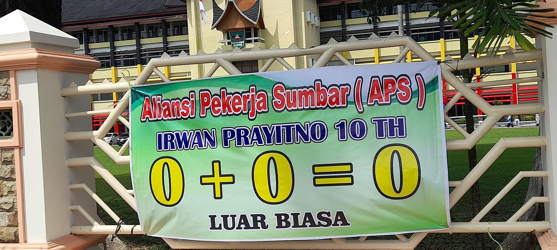 Datangi Kantor Gubernur Amps Menilai 10 Tahun Kepemimpinan Irwan Prayitno Tak Ada Hasil Fokussumatera