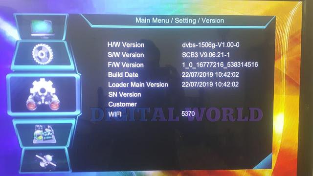 OPEN BOX HD RECEIVER 1506G