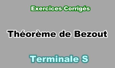 Exercices Corrigés Théorème de Bezout Terminale S PDF