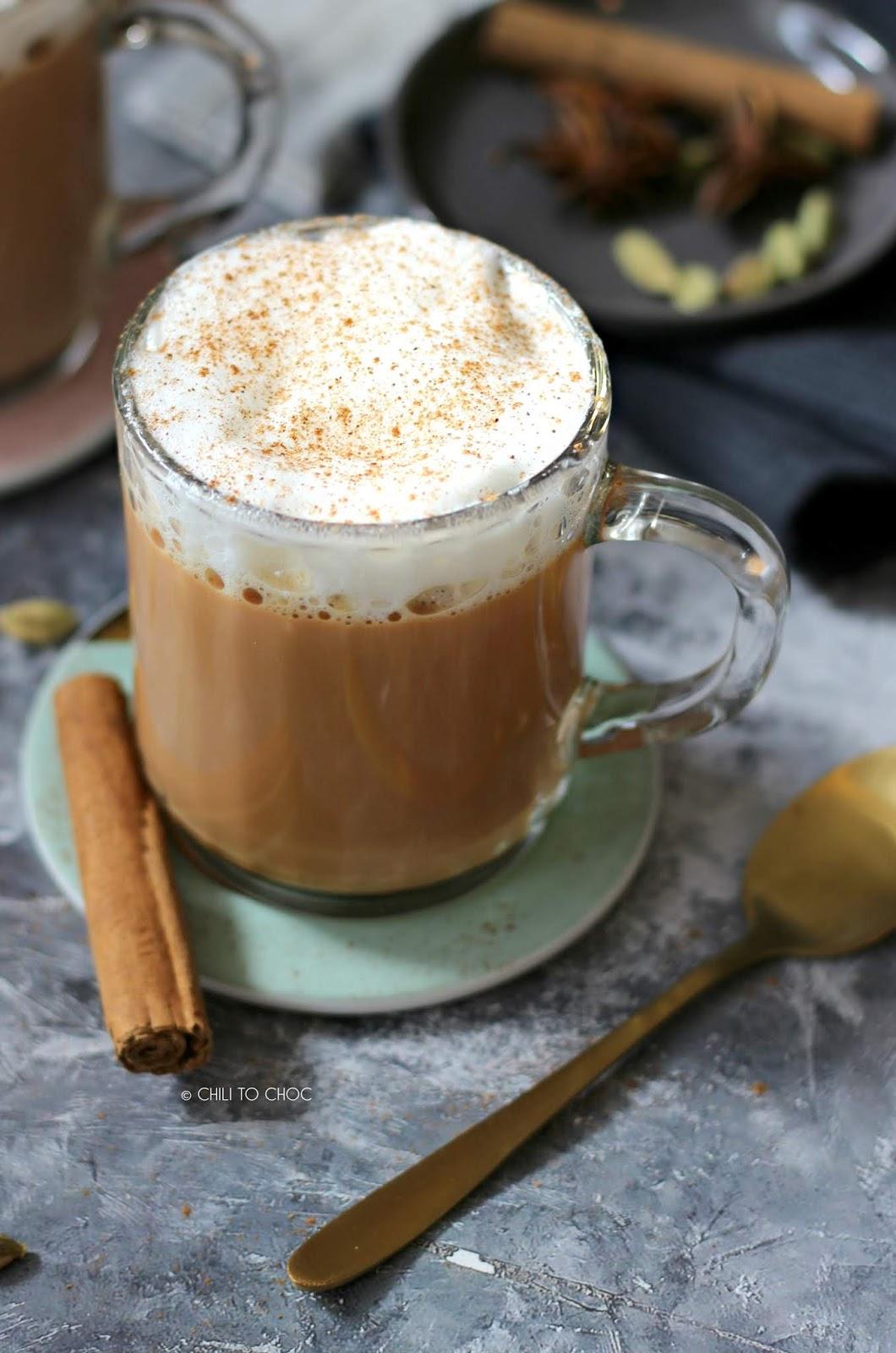 Starbucks Inspired Chai Latte