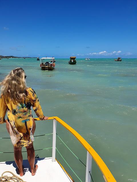 Blog Apaixonados por Viagens - Passeio às Galés de Maragogi - Alagoas