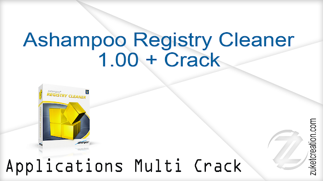 Ashampoo Registry Cleaner 1.00 + Crack