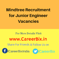 Mindtree Recruitment for Junior Engineer Vacancies