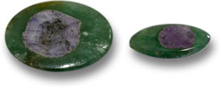 Ruby in Fuchsite Gems