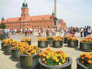 Atrakcja turystyczna castle-square-plac-zamkowy - Polska