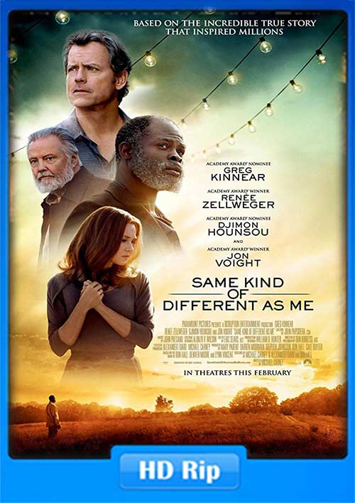 Same Kind of Different as Me 2017 480p WEB-DL 350MB x264 Poster