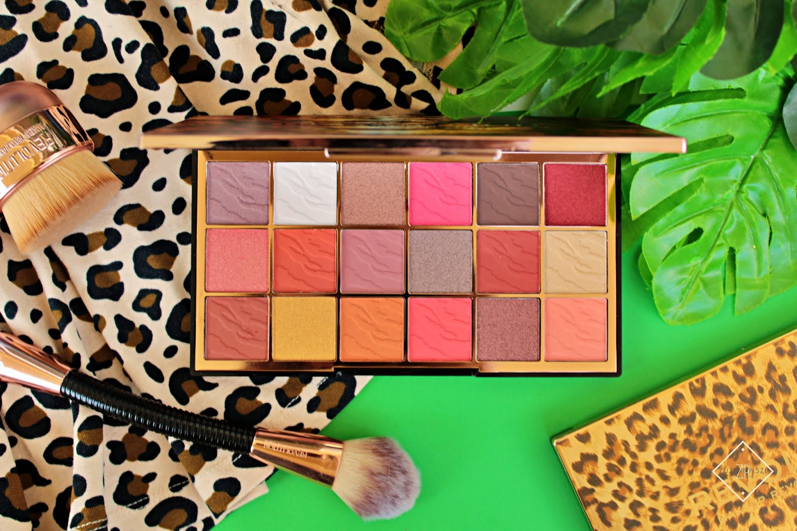 paleta cieni Makeup Revolution Wild Animal Fierce.