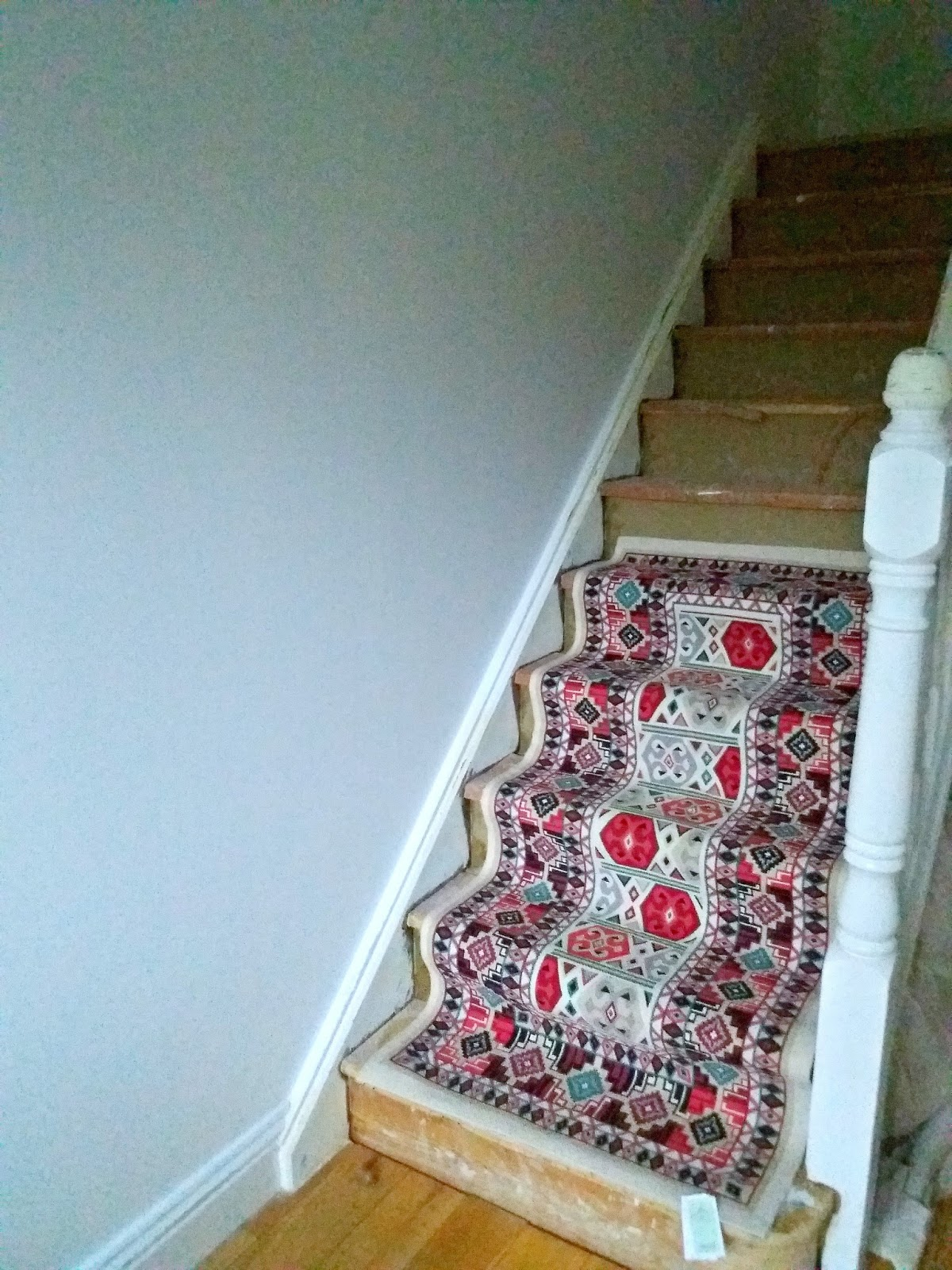 Installing A Stair Runner Yourself Make Do And Diy
