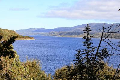 Seenlandschaft in Chile