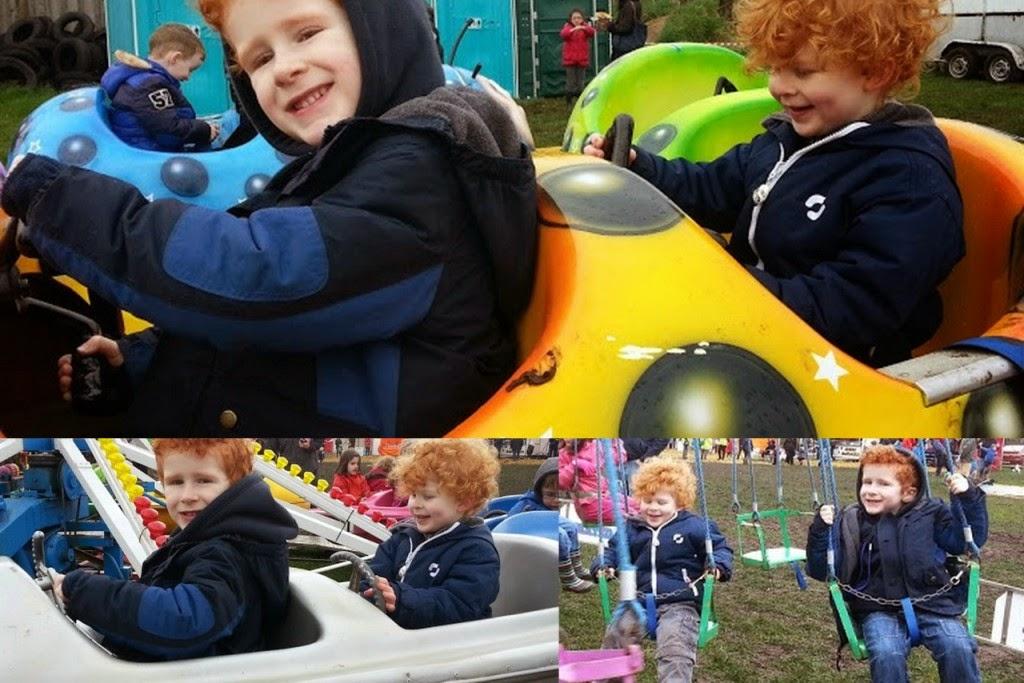 Fairground rides Little Fun Fest Red HOuse Farm