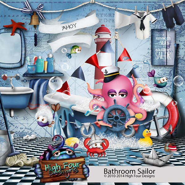 Bathroom Sailor