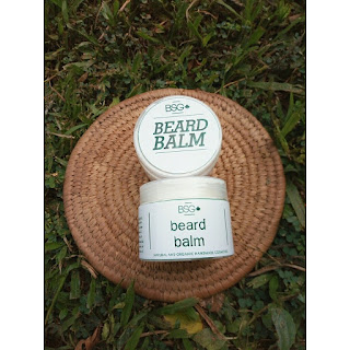brown skin girl beard balm