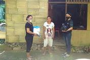 Peringati Hardiknas di Tengah Pandemi Covid- 19, SMA Negeri 1 Manganitu Selatan Bagi Sembako