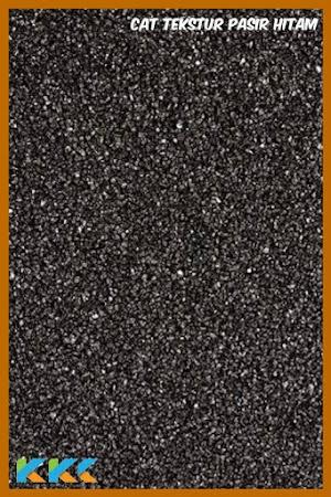 Tekstur Pasir Hitam Mesh 20-30 Kemasan 5Kg