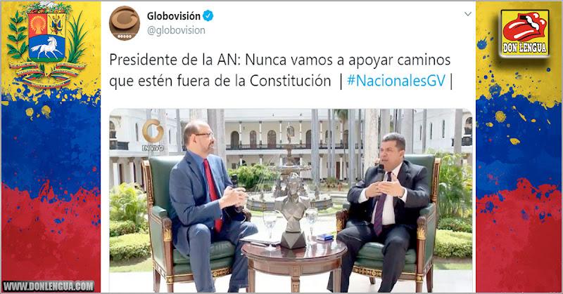 Globovisión reconoció a Luis Parra como presidente de la Asamblea Nacional
