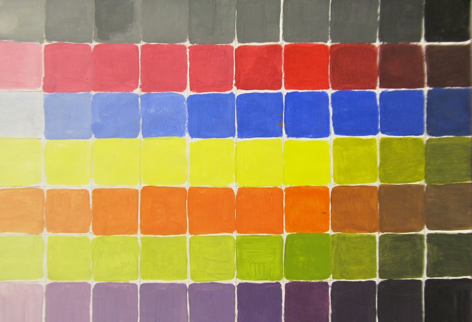 Art Teacher Creature Monochromatic Painting