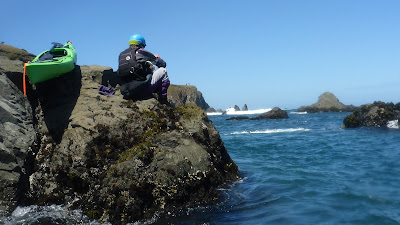 Shooting Mendocino Kayaking Videos